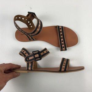 Monoprix Noir-et-Beige Sandals DR01248